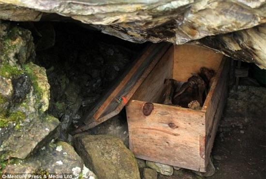Phát hiện hầm mộ chứa xác ướp hun khói của người Philippines cổ 3