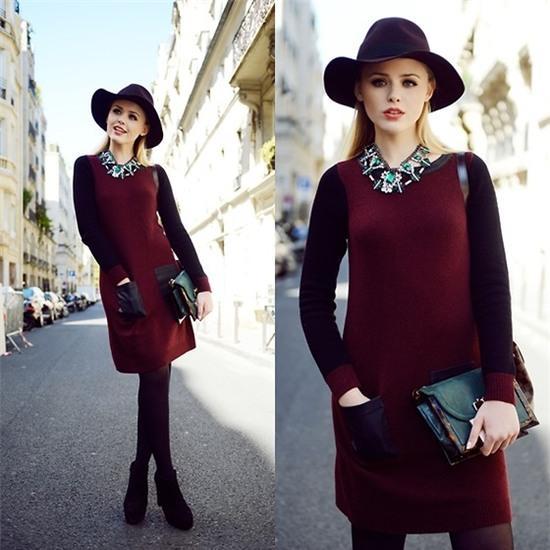 Kristina Bazan - Zalando Dress - PARIS FASHION WEEK LOOK