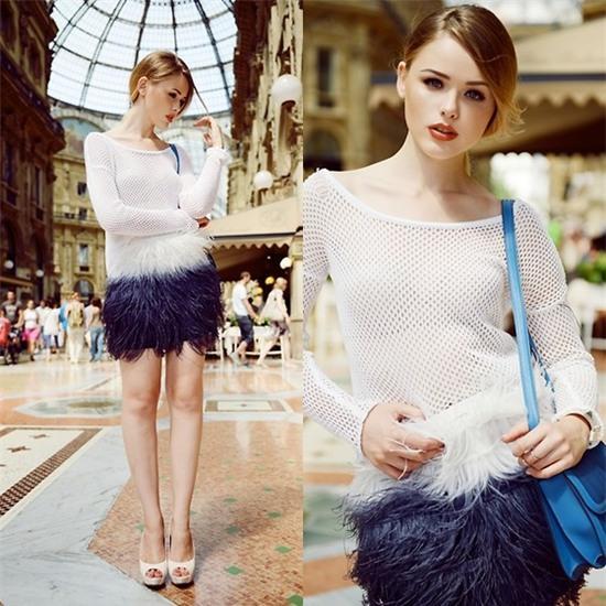 Kristina Bazan - Hermès Bag - GALLERIA VITTORIO EMANUELLE