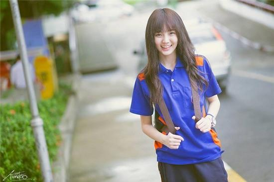 Nét mặt dễ thương như thiên thần cùng với điệu bộ tinh nghịch của Nenezsnp thu hút hơn 154.000 fan trên Facebook tại Thái Lan, Trung Quốc và Việt Nam. Ảnh: Facebook.