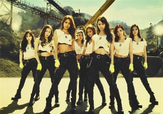 Girls Generation Catch Me If You Can - Group SNSD