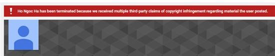 Thông báo hiện tại trên <a target='_blank' href='https://www.phunuvagiadinh.vn/-youtube.topic'>Youtube</a> của Hồ Ngọc Hà.