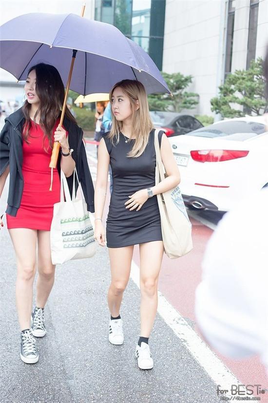 Bí quyết ăn gian chiều cao dù đi bệt của sao Hàn