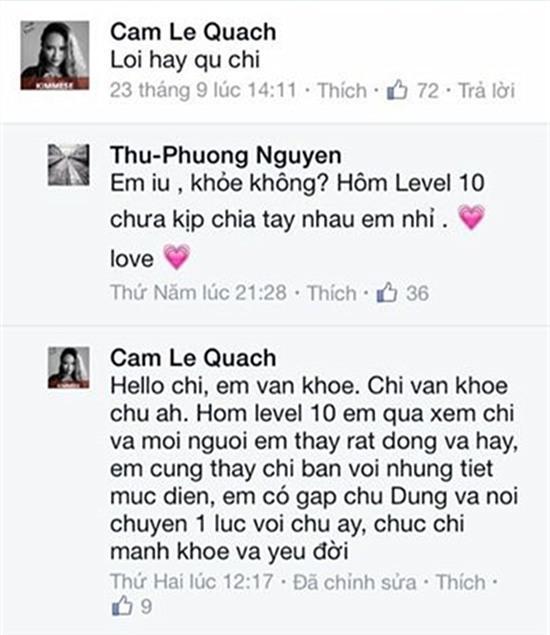 Thu Phương, Giọng hát Việt, tình thày trò, Đàm Vĩnh Hưng, Ngô Kiến Huy