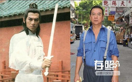 Hình ảnh Huệ Thiên Tứ năm xưa và trước khi qua đời một năm.