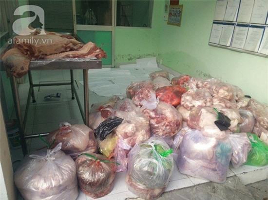 Thịt bẩn vào Sài Gòn bằng cách nào?