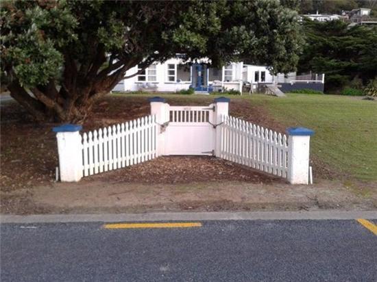 Mục đích của hàng rào này làm gì?