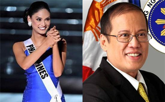 Tân Hoa hậu Hoàn vũ 2015 đang hẹn hò với Tổng thống Philipines - Ảnh 1.