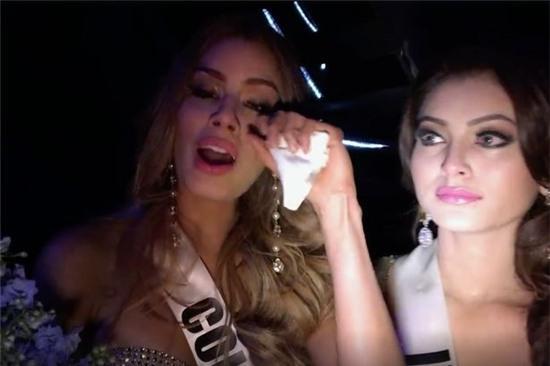 Hoa hậu Colombia phản ứng sau khi thi Hoa hậu Hoàn vũ