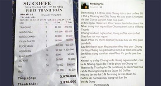 Xuất hiện nhiều tờ hóa đơn sai sự thật: Nhà hàng điêu đứng vì bị hiểu lầm là chặt chém - Ảnh 2.