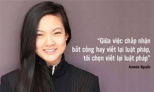 Cô gái Việt từng bị cưỡng hiếp tiên phong viết lại luật pháp Mỹ