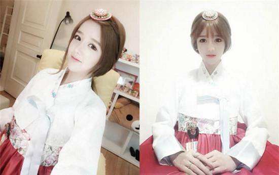 Cô gái Hàn Quốc gây sốt 9gag vì mặt xinh, thân hình như bước ra từ truyện tranh - Ảnh 1.