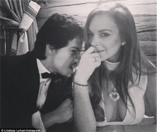 Lindsay Lohan hẹn hò thiếu gia người Nga