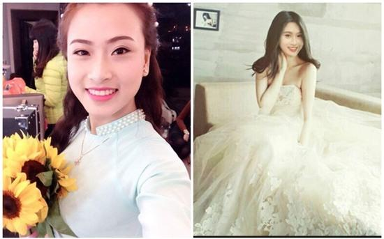 Chị em đua nhau hóa thân thành cô dâu xinh đẹp
