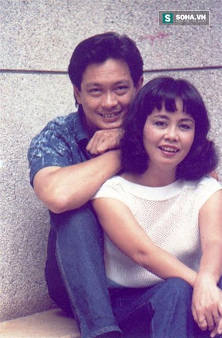 Vợ chồng nghệ sĩ ưu tú Nguyễn Chánh Tín - Bích Trâm lúc trẻ.