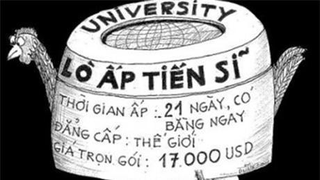 """Danh sach de tai luan an tien si """"khong the tin noi"""" o Viet Nam - Anh 2"""