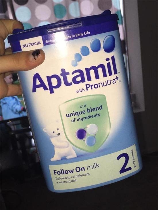 hộp sữa