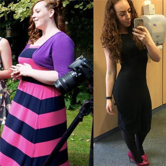 Trầm trồ trước nàng béo sợ chụp ảnh giảm tới 41kg trong vòng 1 năm - Ảnh 5.