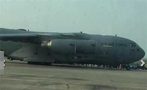 chuyên cơ Tổng thống Mỹ Obama, sân bay Nội Bài