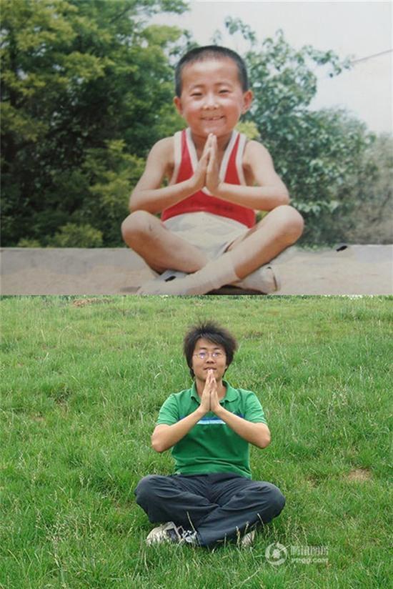 Giới trẻ Trung Quốc đồng loạt xin 1 vé về tuổi thơ nhân ngày 1/6 với chùm ảnh khi xưa ta bé - Ảnh 10.