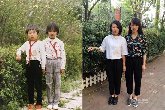 Giới trẻ Trung Quốc đồng loạt xin 1 vé về tuổi thơ nhân ngày 1/6 với chùm ảnh khi xưa ta bé - Ảnh 4.