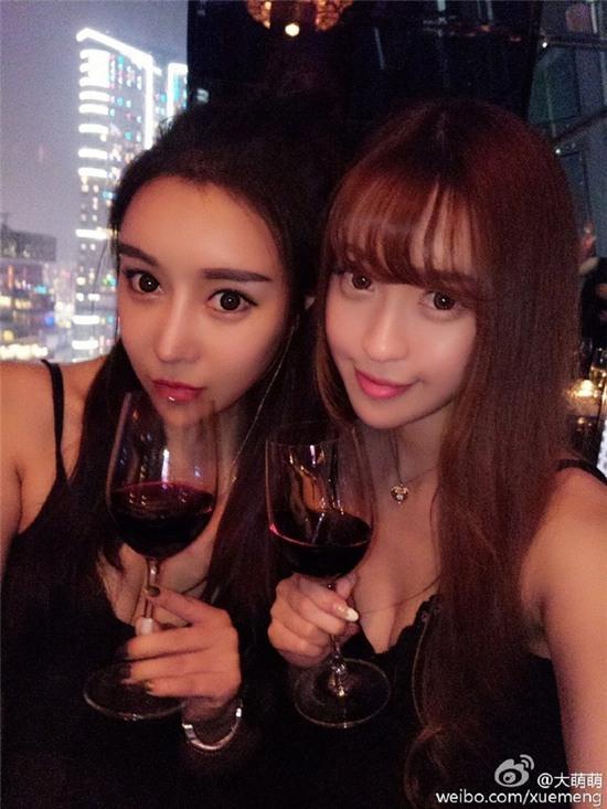 Bức ảnh 11 hot girl tụ hội trong 1 buổi tiệc gây sốt mạng xã hội Weibo - Ảnh 3.