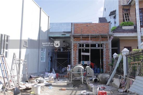 Trước ngày cưới 4 ngày, nhà của Kỳ Hân vẫn đang sửa chữa - Ảnh 1.