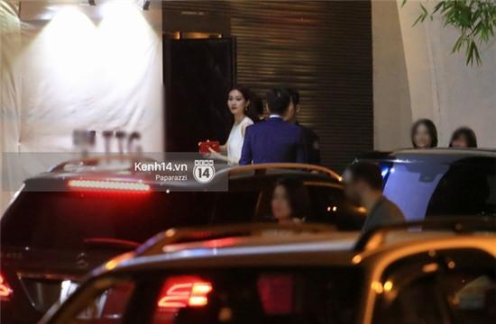 Hoa hậu Thu Thảo hạnh phúc dự sinh nhật bạn trai đại gia - Ảnh 4.