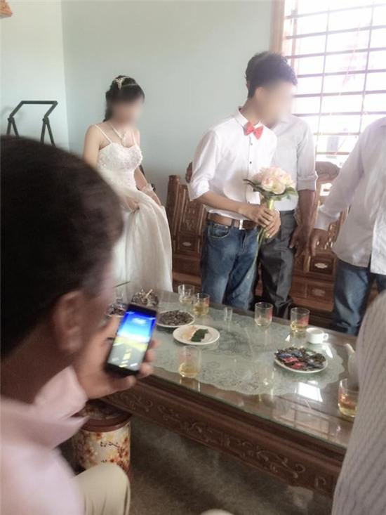Xôn xao đám cưới của cặp đôi 16 tuổi ở Nghệ An - Ảnh 4.