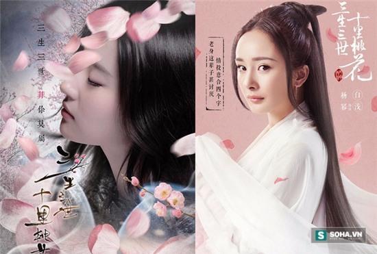 Những cặp bạn thân của Hoa Ngữ bị so sánh vì đóng cùng vai diễn - Ảnh 2.