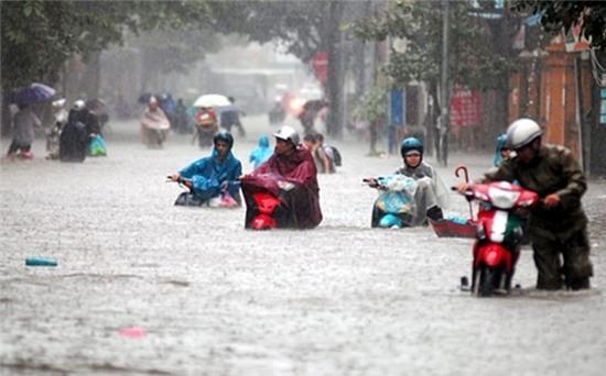 thời tiết, mưa, ngập, Hà Nội, nắng, triều cường