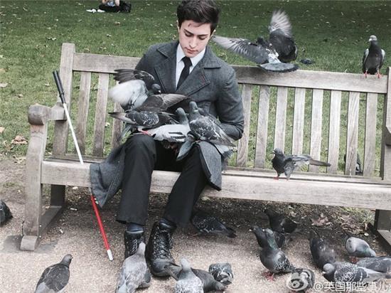 Chàng trai đẹp như tượng tạc bên đàn bồ câu khiến biết bao cô gái phải xuyến xao - Ảnh 2.