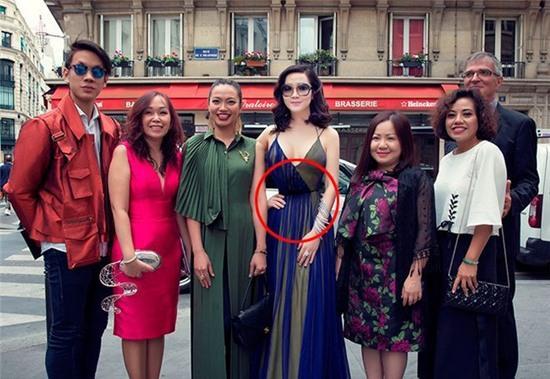 Hoa hậu Đền Hùng Giáng My gây khó hiểu với ngoại hình sai sự thật do photoshop quá đà - Ảnh 5.