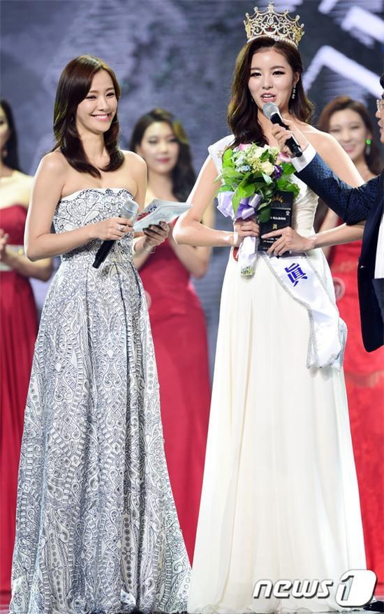 Vừa đăng quang, Tân Hoa hậu Hàn Quốc gây thất vọng với nhan sắc kém cạnh hơn Á hậu và dàn thí sinh - Ảnh 4.