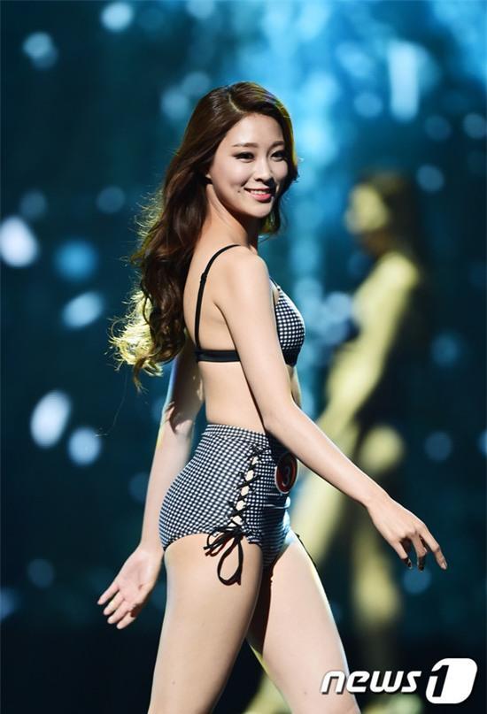 Vừa đăng quang, Tân Hoa hậu Hàn Quốc gây thất vọng với nhan sắc kém cạnh hơn Á hậu và dàn thí sinh - Ảnh 15.