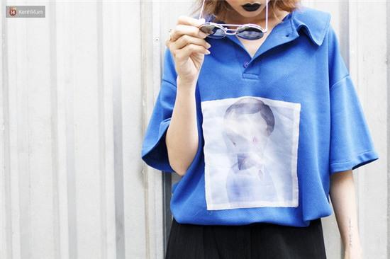 Street style giới trẻ 2 miền tuần qua: áo phông, shorts, kẻ & hoa lá rực rỡ tràn ngập - Ảnh 13.