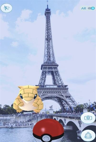 San Pokemon o nhung dia danh noi tieng hinh anh 2