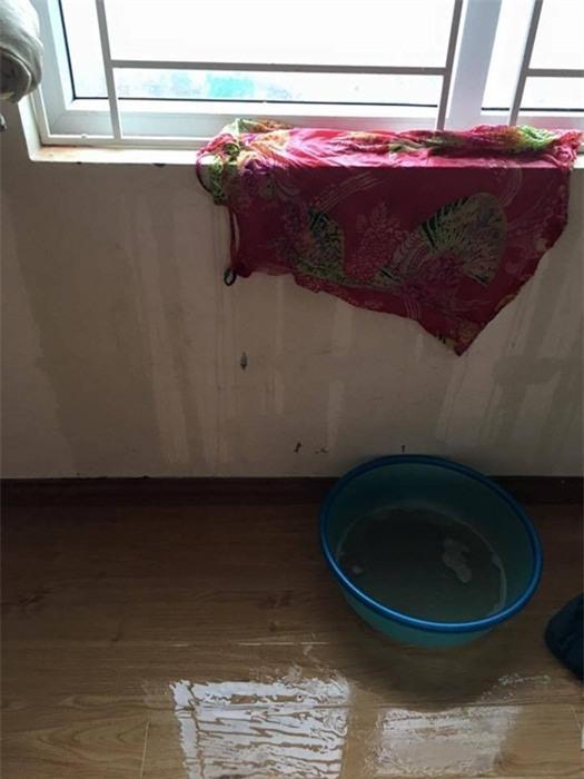 Bão số , thủ đô Hà Nội, Mưa lớn, mẹ bế con cả đêm, nước tràn vào nhà