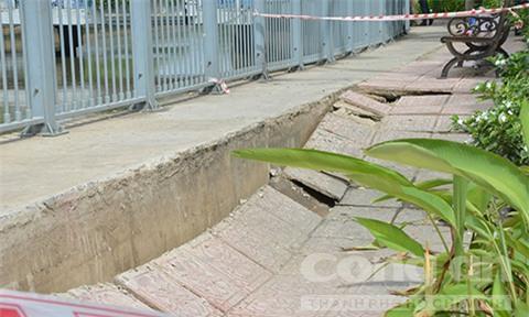 Hố tử thần lại xuất hiện trên đường phố Sài Gòn - Ảnh 4.