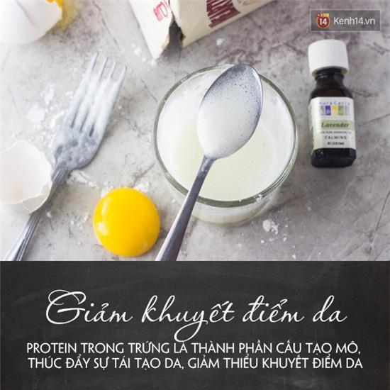 Từ 1 quả trứng phăng ra 5 công thức làm đẹp da hiệu quả - Ảnh 1.