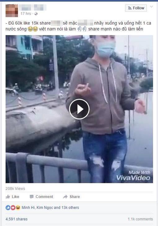 Like là làm - Trào lưu mới phản cảm của nhiều bạn trẻ Việt Nam - Ảnh 2.