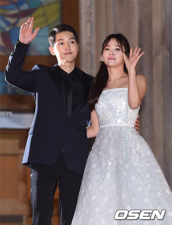 song hye kyo - song joong ki tra loi ve thong tin chuan bi lam dam cuoi - 1