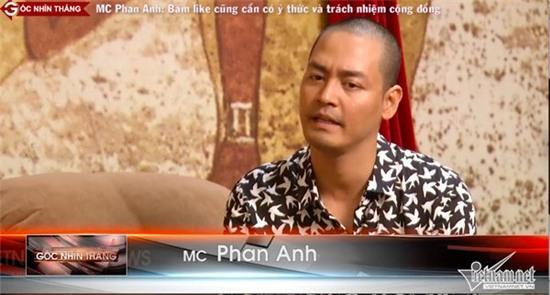 MC Phan Anh, hội chứng câu like, câu like trên mạng xã hội, Việt Nam nói là làm, đốt trường