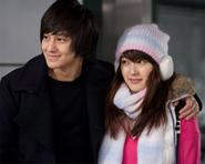 Những hình ảnh đầu tiên của cặp đôi Kim Bum và Park Jin Hee