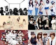 Kế hoạch hoành tráng nửa đầu 2010 của các nhóm nhạc nữ Kpop