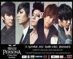 SS501 chuẩn bị đánh cắp trái tim của fans hâm mộ Thái Lan