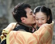 Phùng Thiệu Phong ôm hôn Trần Kiều Ân