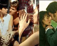Những màn khóa môi lãng mạn nhất trên màn ảnh