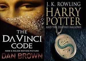 """Mật mã Da Vinci """"đại chiến"""" Harry Potter"""