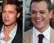 Matt Damon chua chát khi nhận vai thừa của Brad Pitt